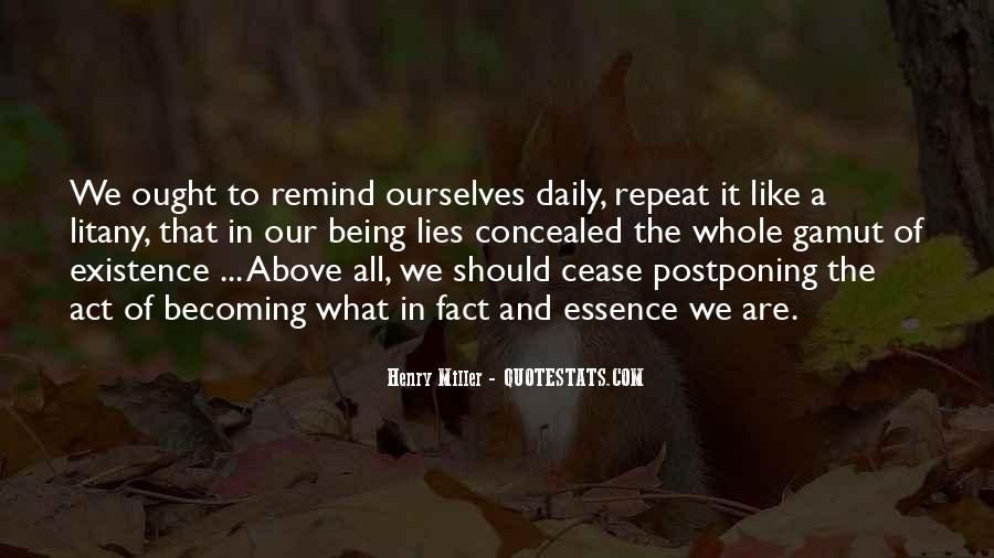 Quotes About Postponing #1290810