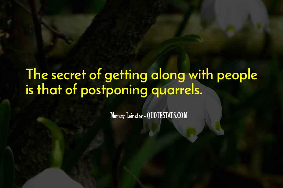 Quotes About Postponing #1399045