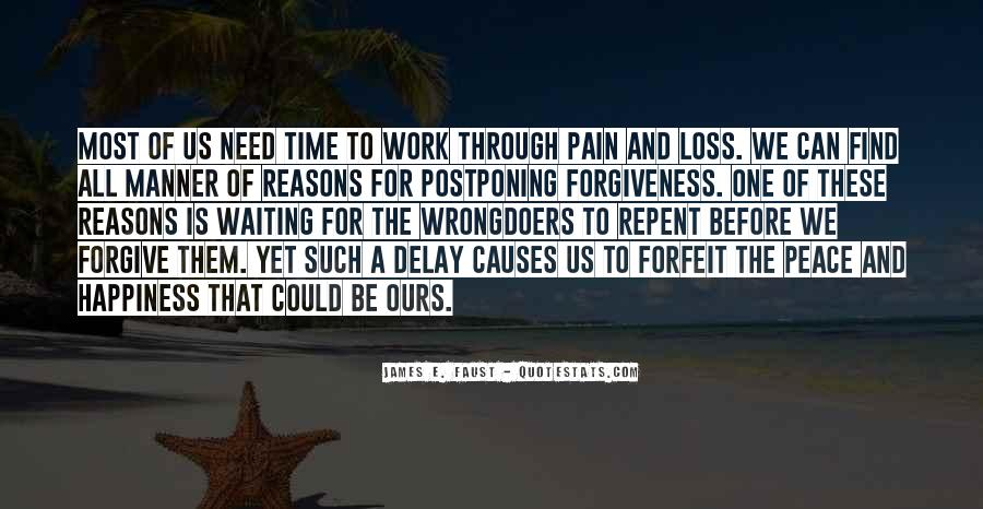 Quotes About Postponing #625422