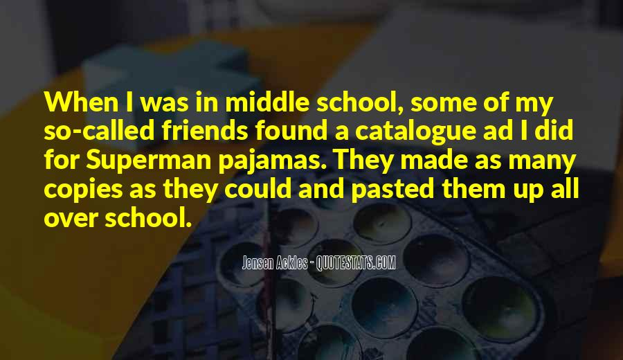 Quotes About School And Friends #102544