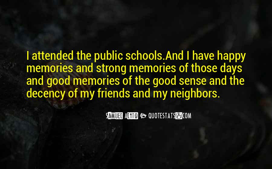 Quotes About School And Friends #193220
