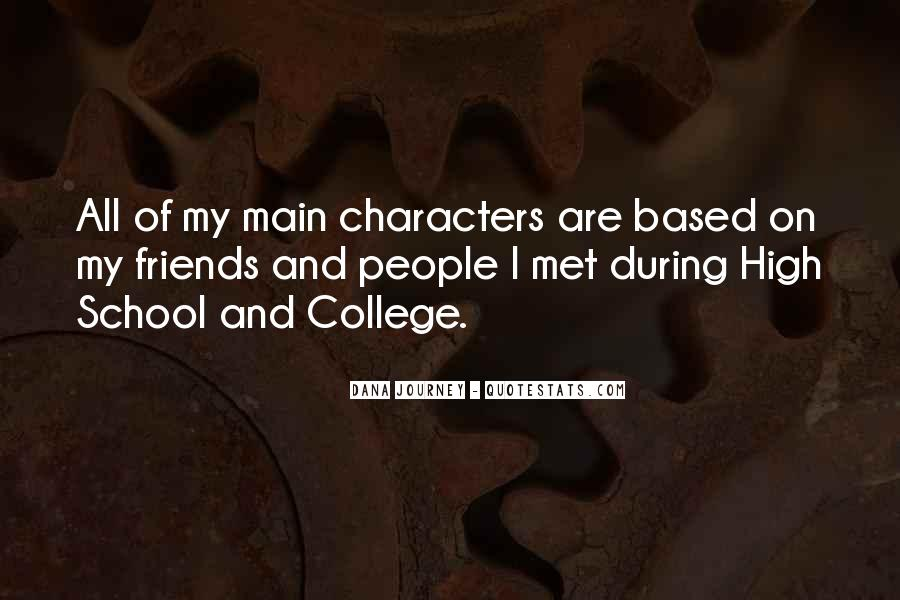 Quotes About School And Friends #346967
