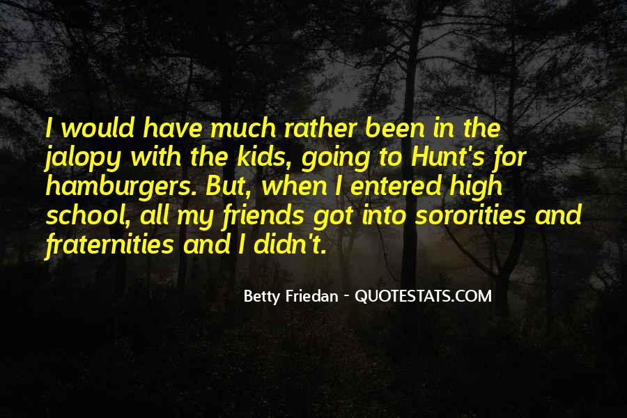 Quotes About School And Friends #435898