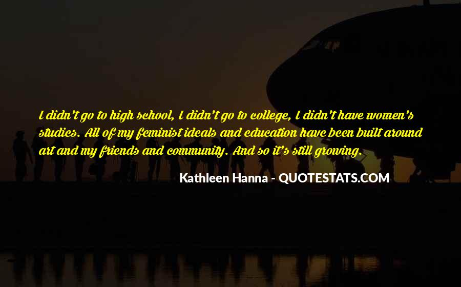Quotes About School And Friends #522806