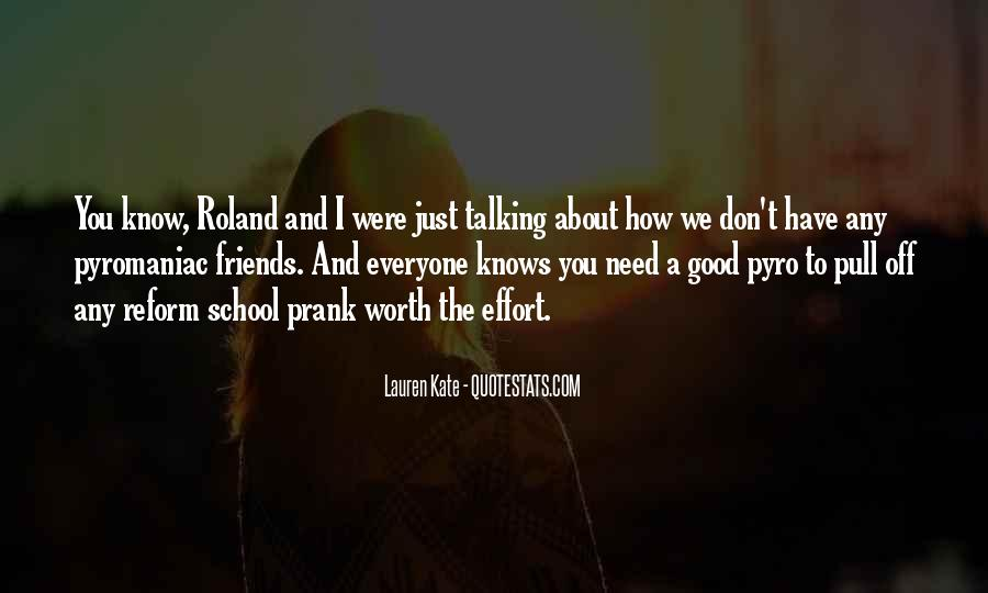 Quotes About School And Friends #5595
