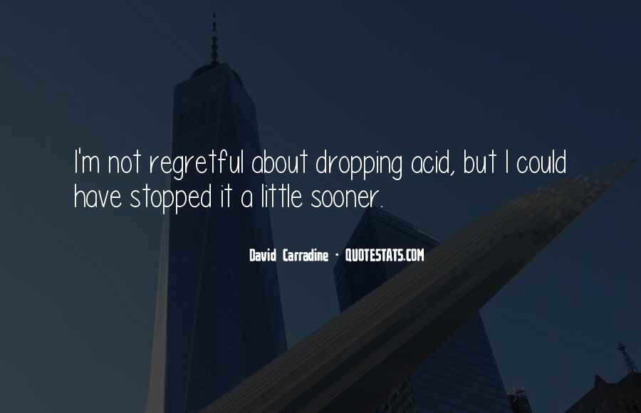 Quotes About Dropping Acid #29556