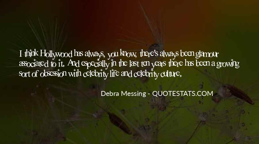 Quotes About Celebrity Obsession #32801