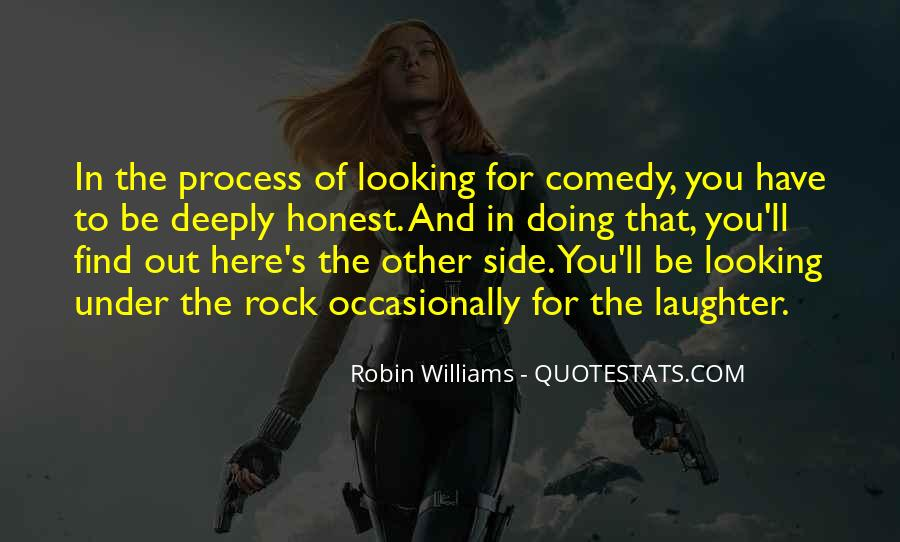 Quotes About Comedy Robin Williams #1064496