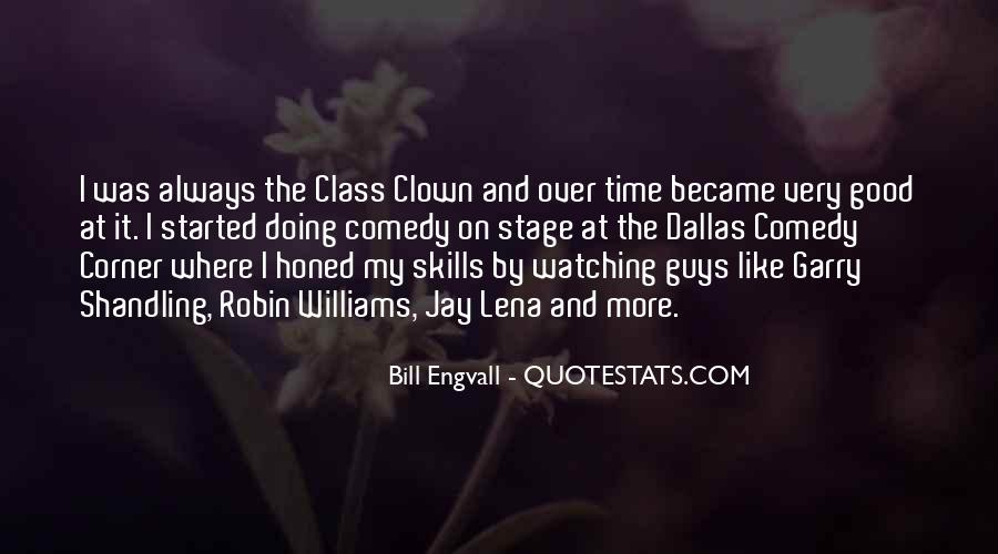 Quotes About Comedy Robin Williams #1645427