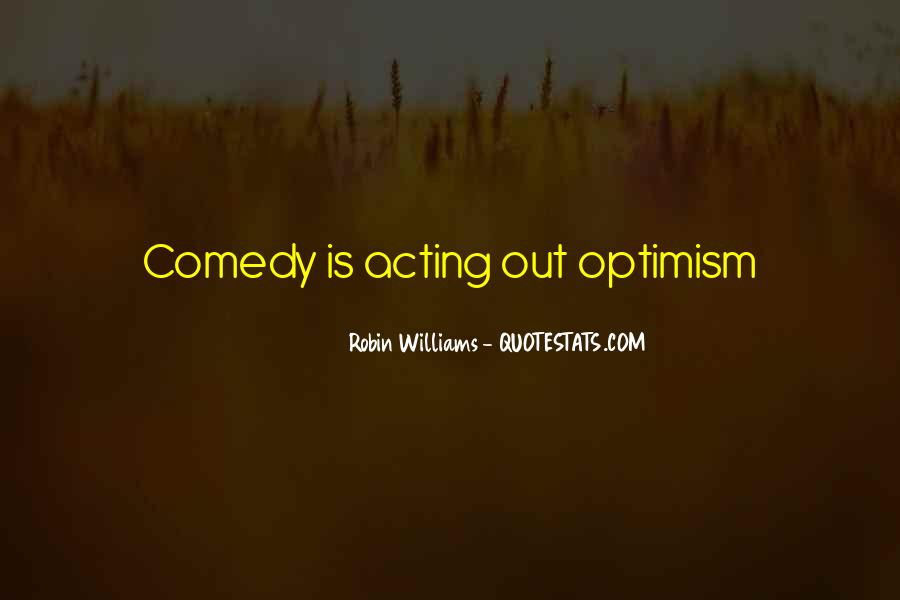 Quotes About Comedy Robin Williams #1717186