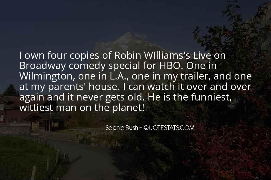Quotes About Comedy Robin Williams #423297