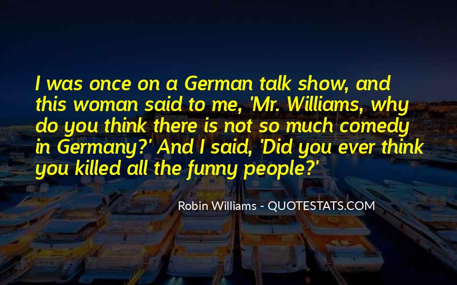 Quotes About Comedy Robin Williams #798520