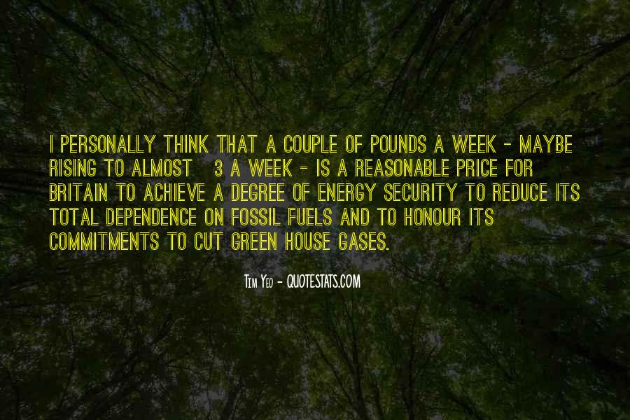 Quotes About Fossil Fuels #111781