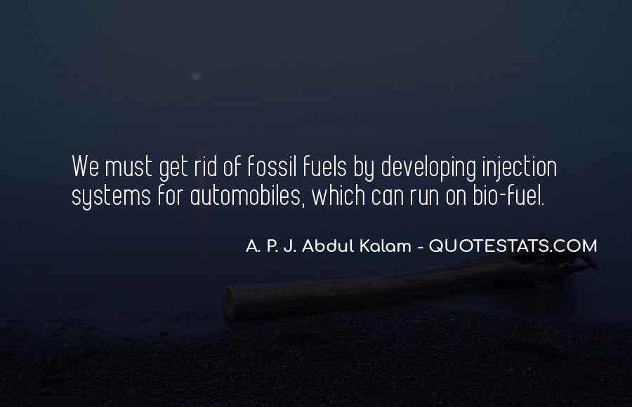 Quotes About Fossil Fuels #1123630