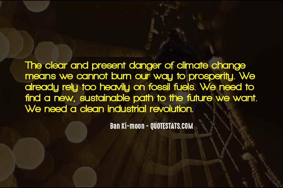 Quotes About Fossil Fuels #1241545