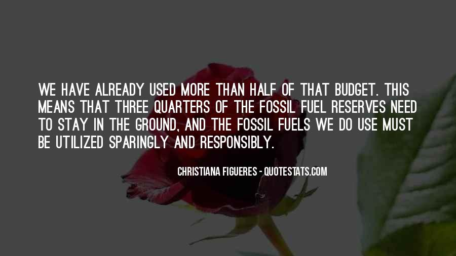 Quotes About Fossil Fuels #133986