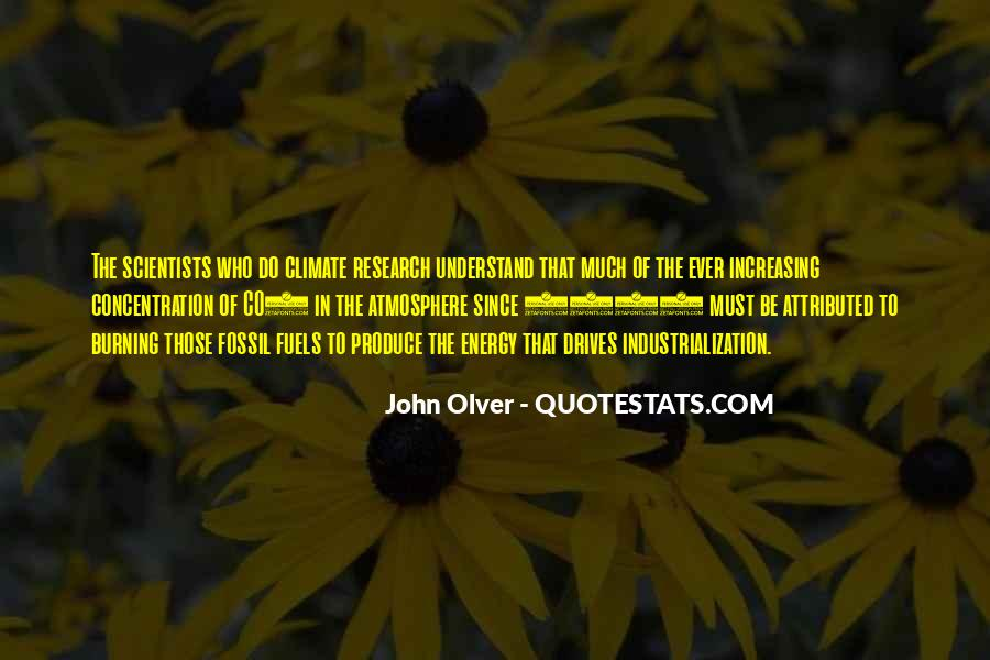 Quotes About Fossil Fuels #182031