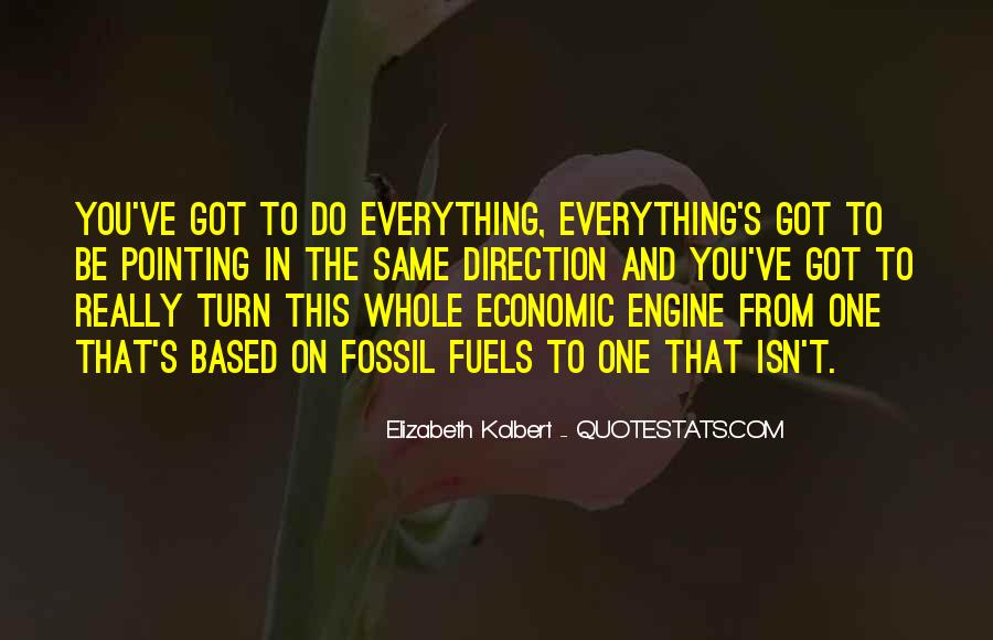 Quotes About Fossil Fuels #300893