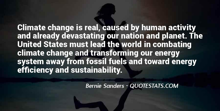 Quotes About Fossil Fuels #450620