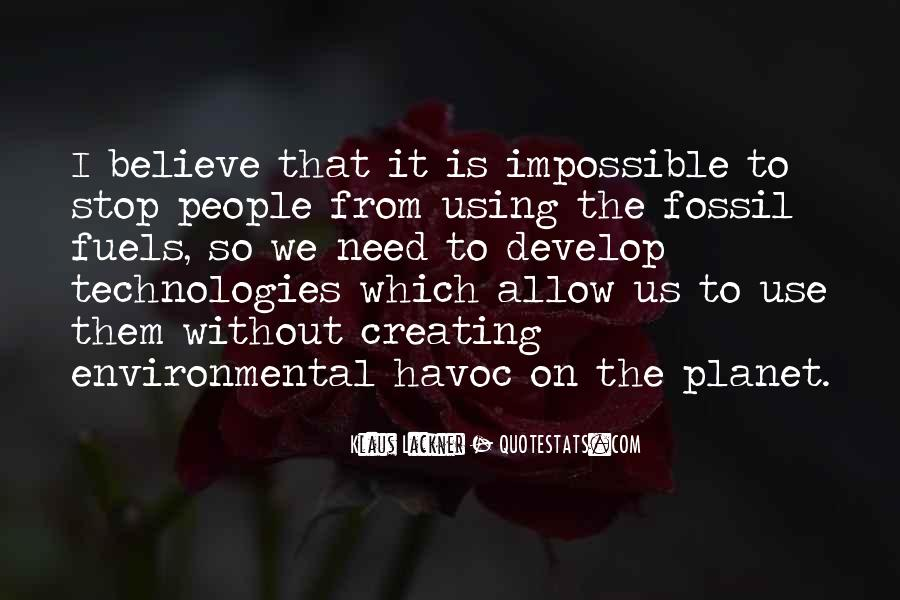 Quotes About Fossil Fuels #704772