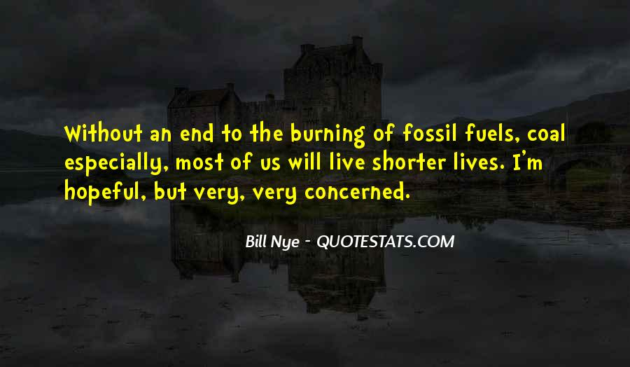 Quotes About Fossil Fuels #735147