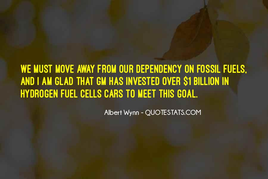 Quotes About Fossil Fuels #859351