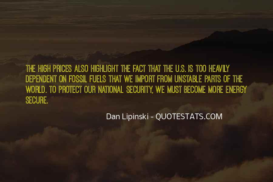 Quotes About Fossil Fuels #91127