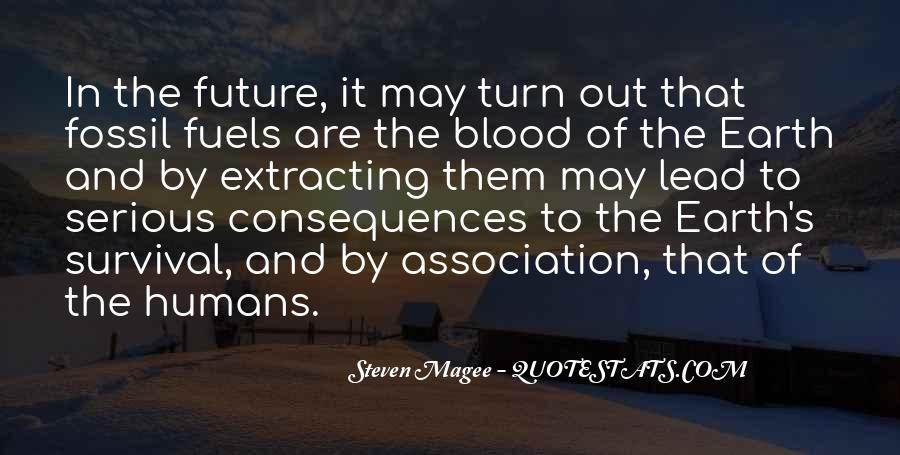 Quotes About Fossil Fuels #941940