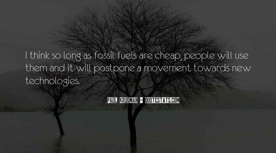 Quotes About Fossil Fuels #997740