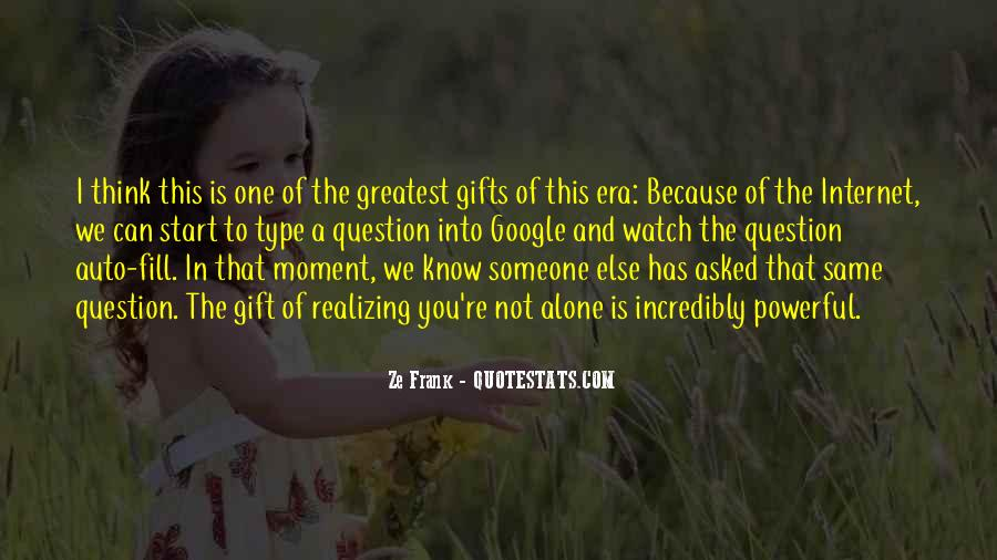 Quotes About Gifts #11002
