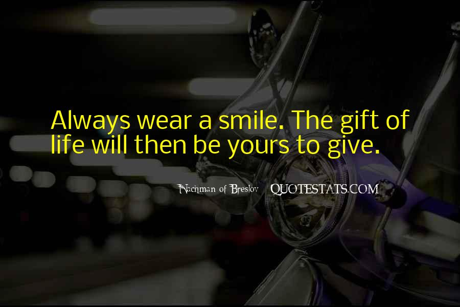 Quotes About Gifts #16486