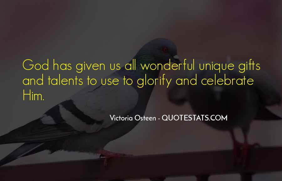 Quotes About Gifts #3042
