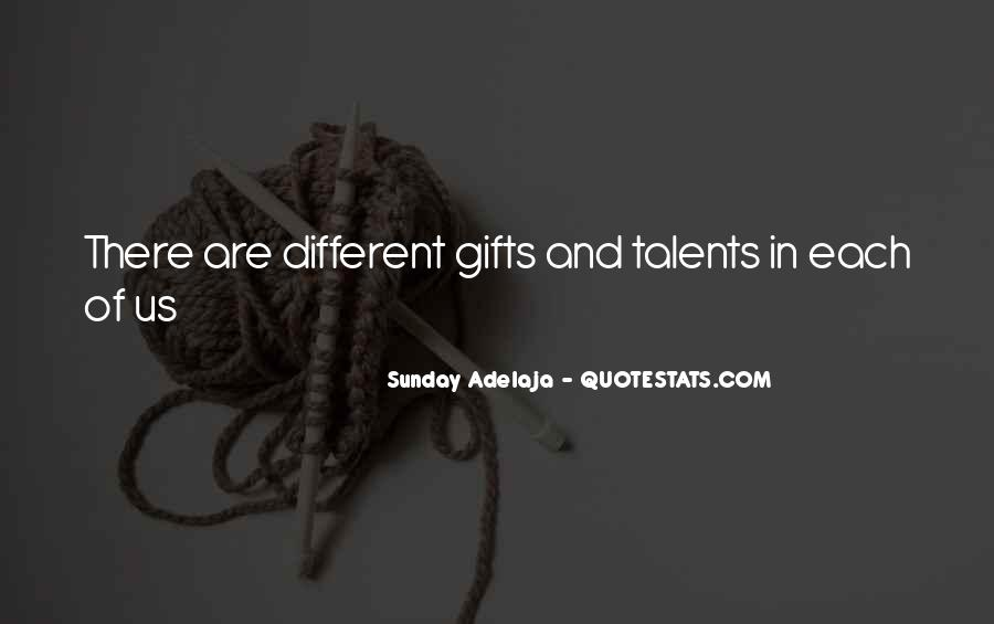 Quotes About Gifts #38493