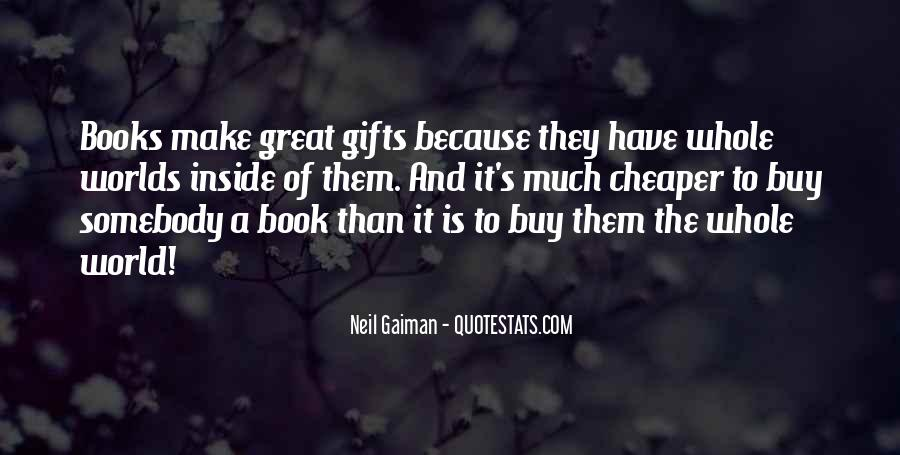 Quotes About Gifts #42715