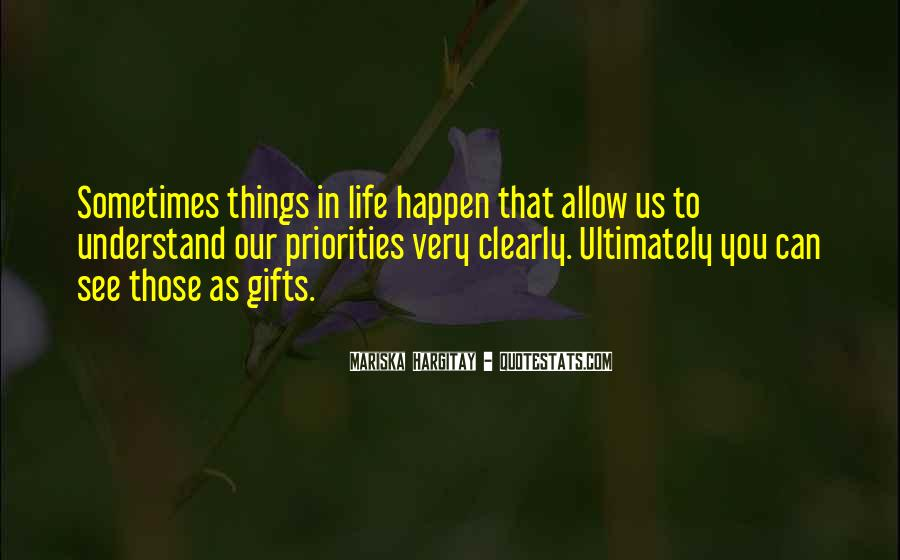 Quotes About Gifts #45656