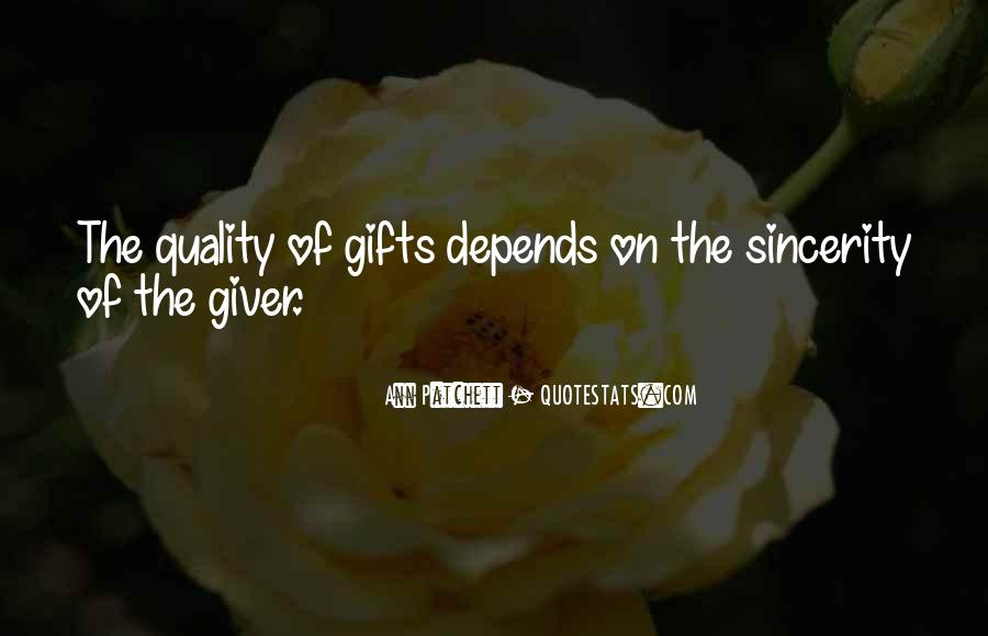 Quotes About Gifts #51699