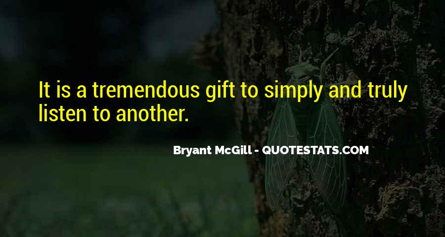 Quotes About Gifts #57776