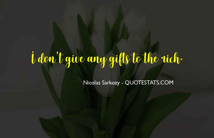 Quotes About Gifts #58954