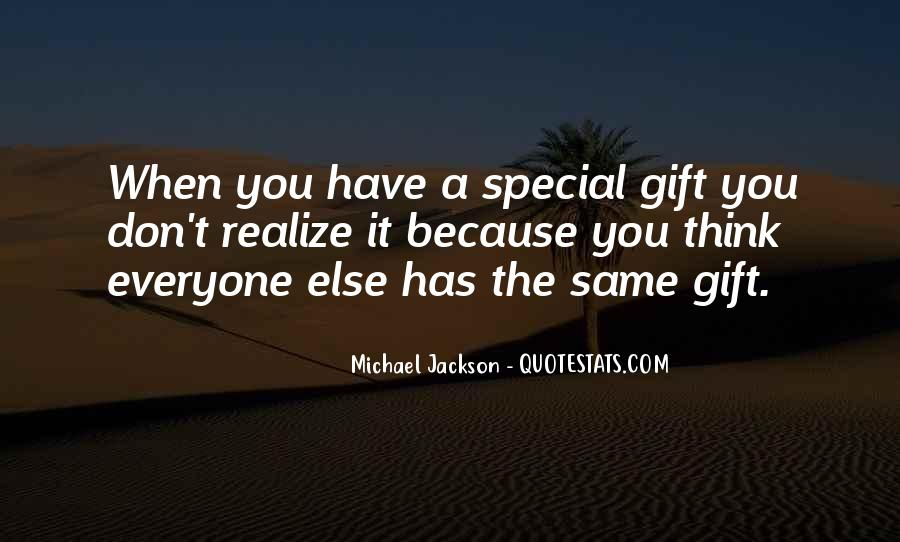 Quotes About Gifts #59177