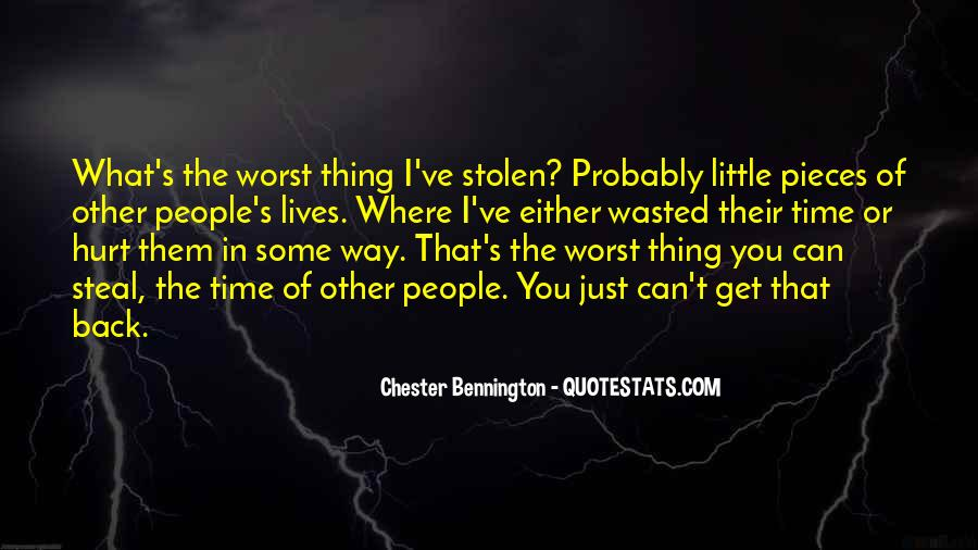 Quotes About The Little Things That Hurt #149017