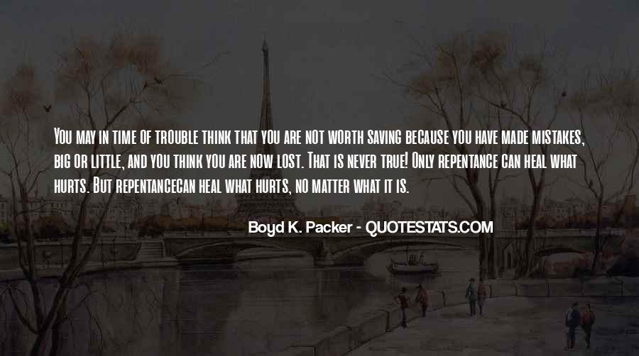 Quotes About The Little Things That Hurt #45336