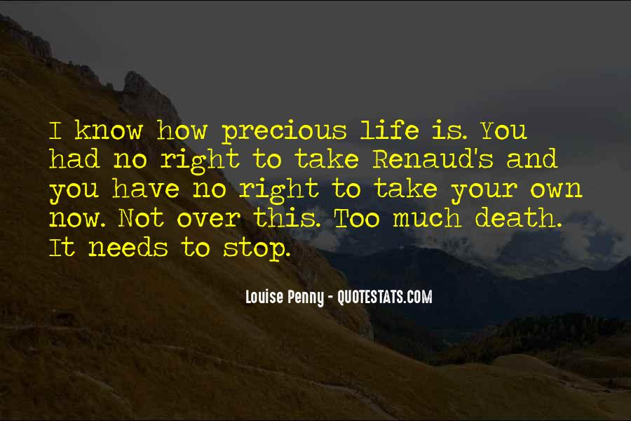 Quotes About Life And How Precious It Is #25537
