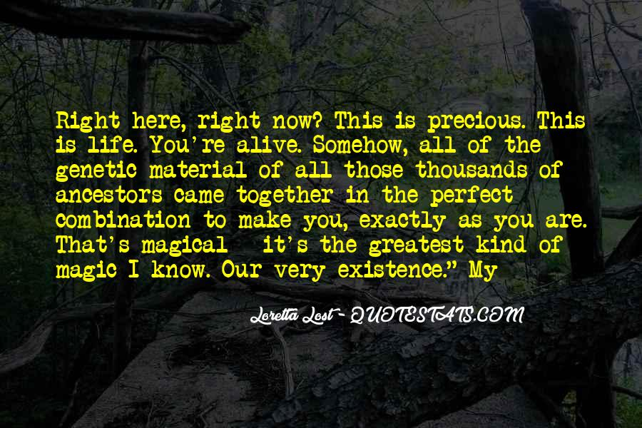Quotes About Life And How Precious It Is #32103