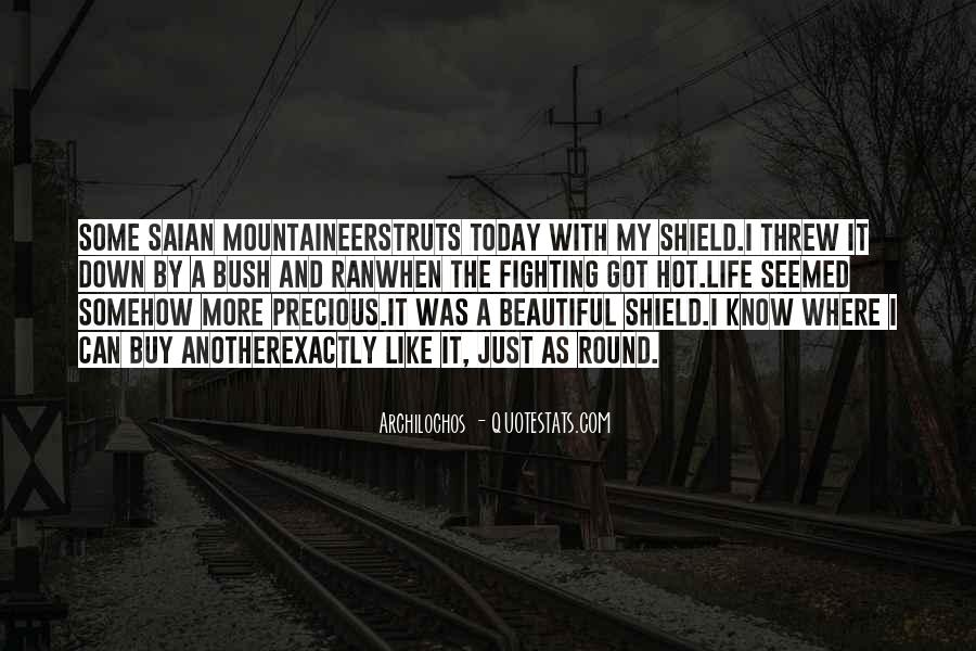 Quotes About Life And How Precious It Is #36444