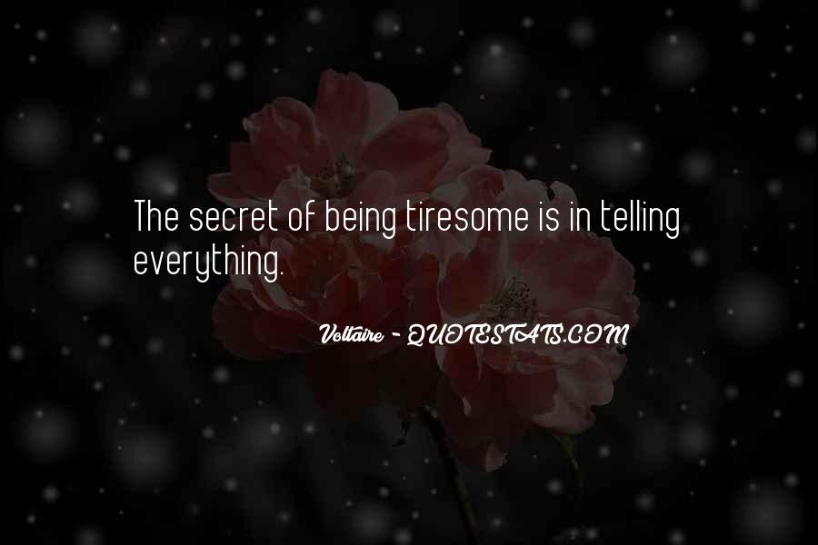 Quotes About The Secret #10488