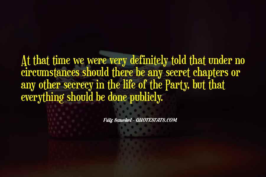 Quotes About The Secret #14915