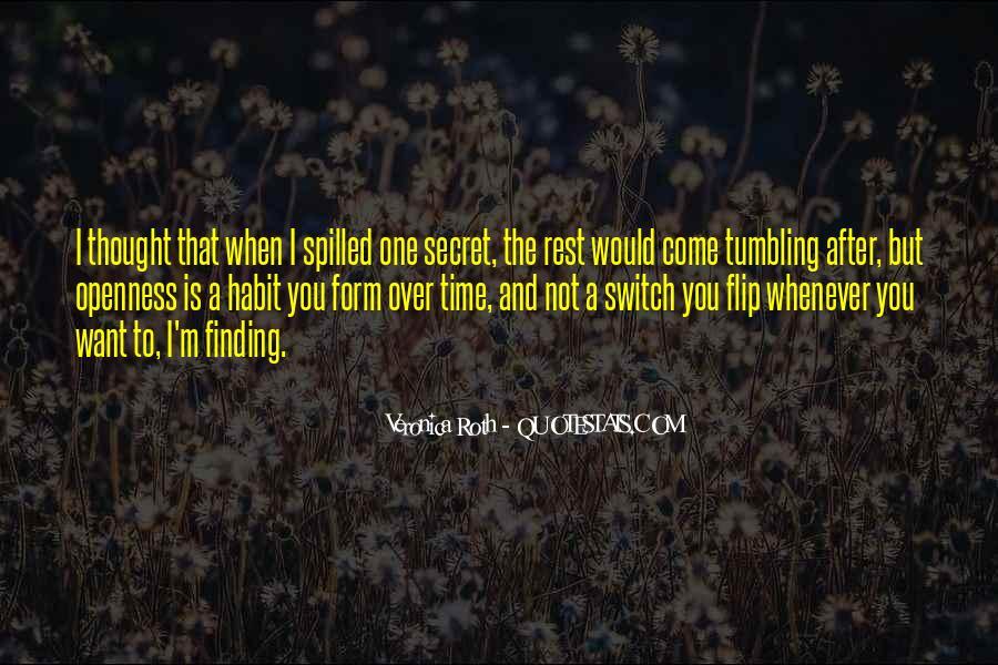 Quotes About The Secret #18621