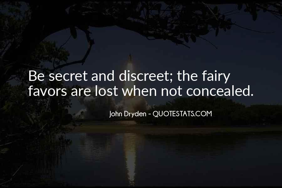 Quotes About The Secret #20820