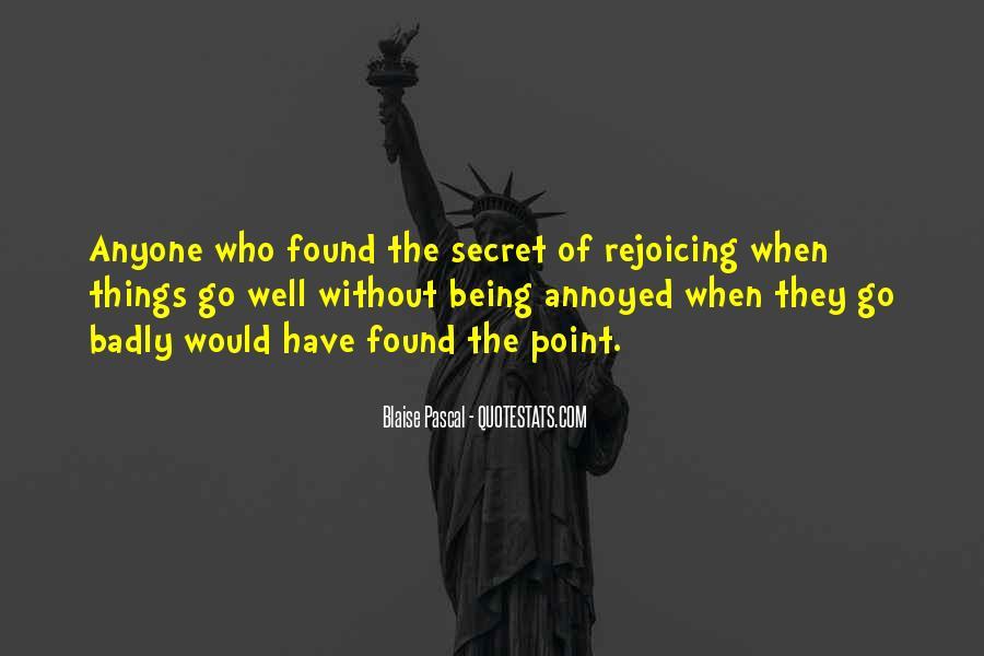 Quotes About The Secret #22355