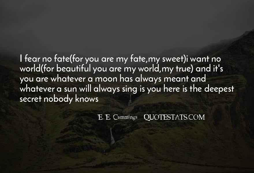 Quotes About The Secret #3236